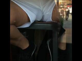 am outside starbucks coffe and i caught this guy….. watching porn!