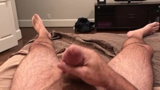 Amateur Bear Cumming Hard