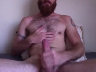 Bearded Redneck Jerk Off