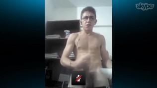 Darío en webcam