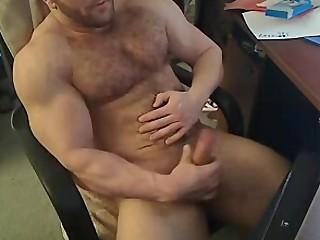 furry muscle webcam