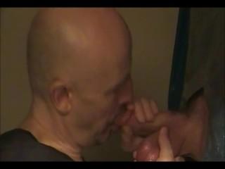 Gloryhole Guy Swallowing Buddies Hot Load