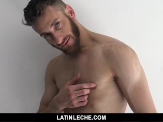 LatinLeche – Straight latin stud offered money to fuck and suck on camera
