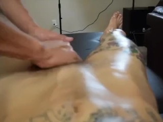 Michael Hoffman's Jerk session with a friend