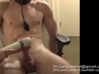 San Diego Jock gagged, tied and made to cum twice in hotel
