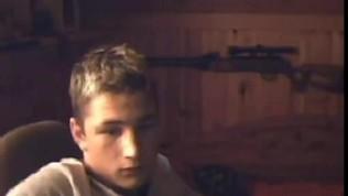 Sexy Webcam Boy Showing Cock