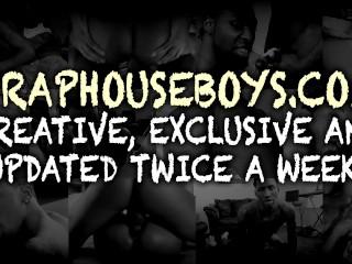 Thug ebony twinks on bareback compilation