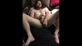 Filming my man anally pleasuring himself