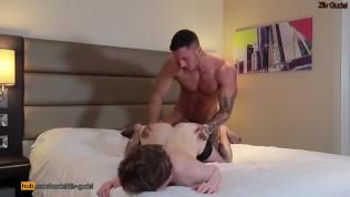 Fit Daddy Raw Breeds a Young Slutty FemBoy