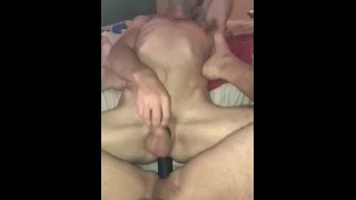 Double dildo amateur gay pnp